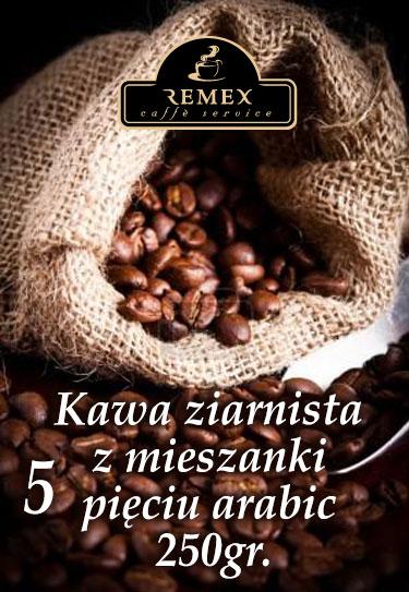 kawa-ziarnista-arabika-remex-caffe-pieciu-250gr_1
