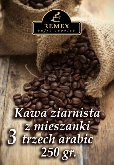 kawa-ziarnista-arabika-remex-caffe-trzech-250gram_1