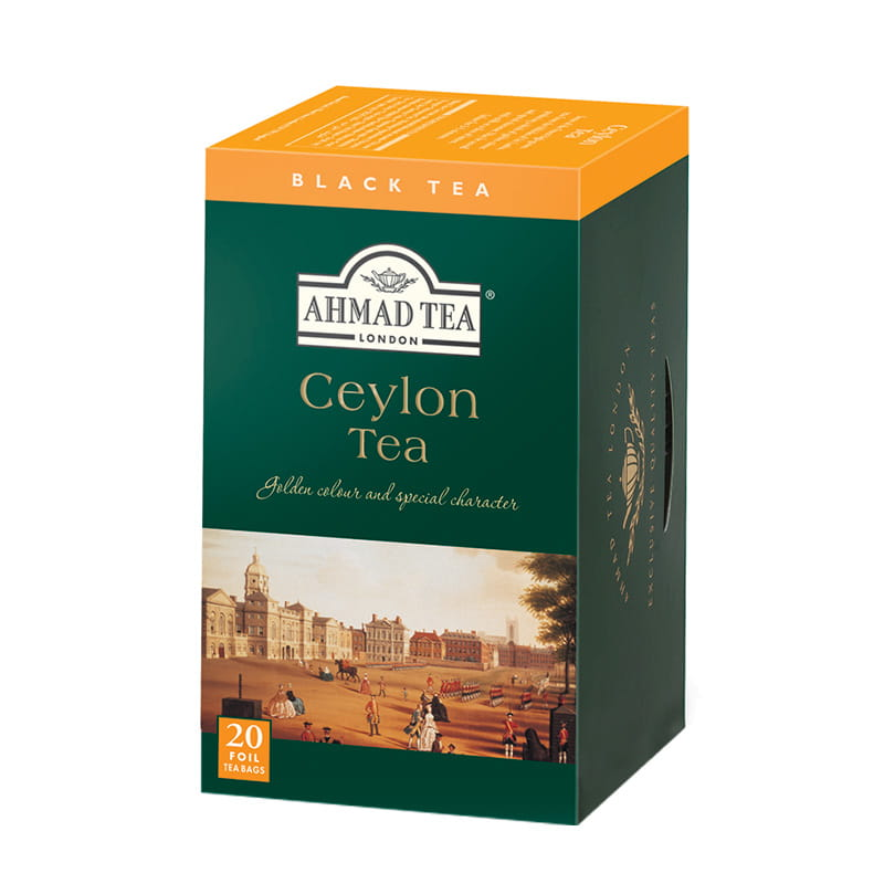Ahmad Tea London – Ceylon Tea – 20 torebek w kopertach aluminiowych