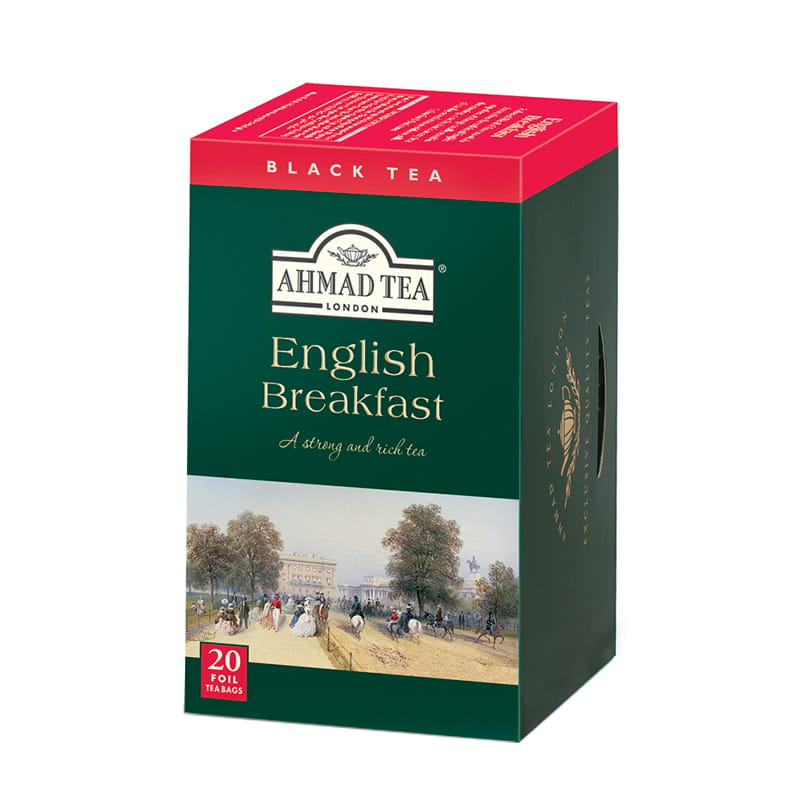 Ahmad Tea London – English Breakfast – 20 torebek