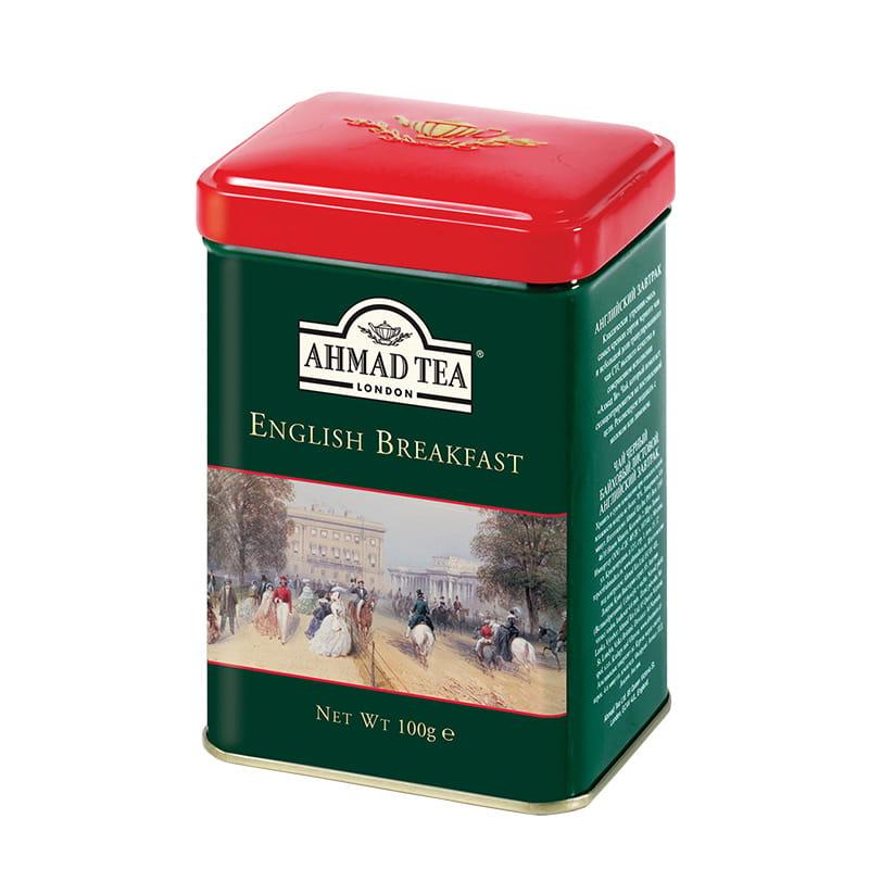 Ahmad Tea London – English Breakfast (puszka) – 100 g herbata liściasta