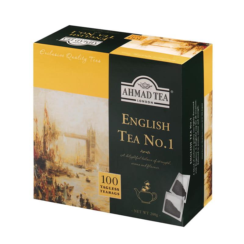 Ahmad Tea London – English Tea No.1 – 100 torebek bez zawieszki