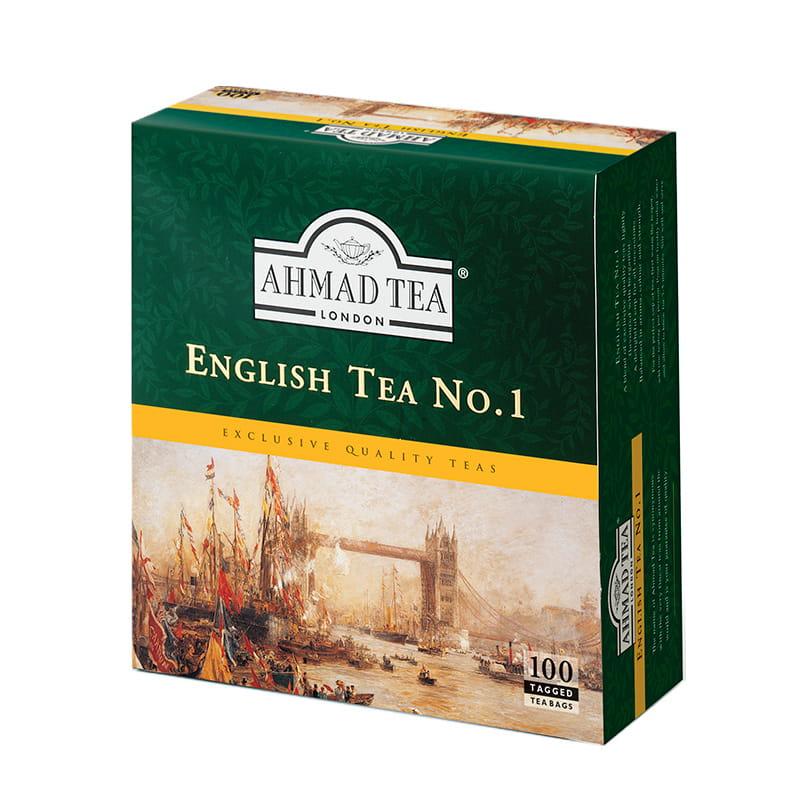 Ahmad Tea London – English Tea No.1 – 100 torebek z zawieszką