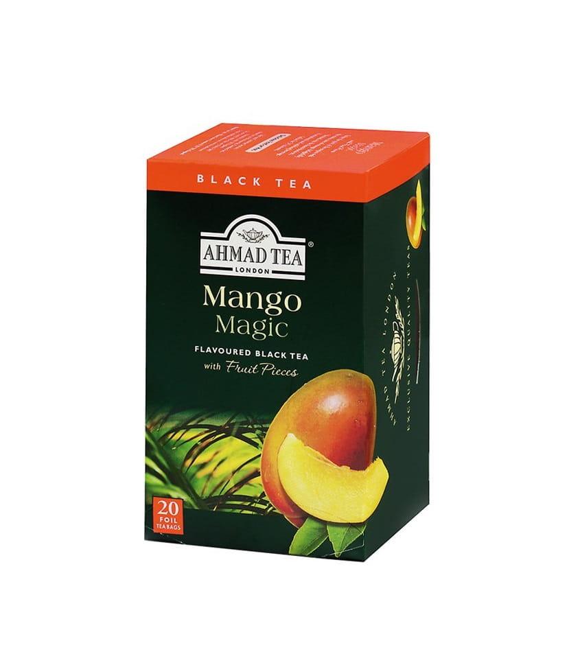Herbata czarna smakowa – Mango (20 sztuk)