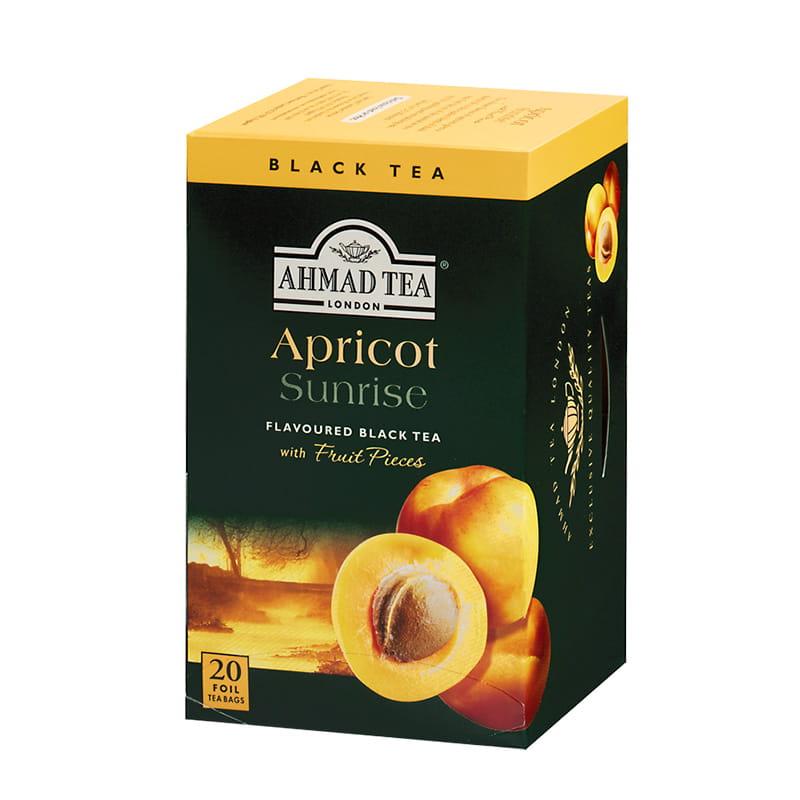 Herbata czarna smakowa – Morela (20 sztuk)