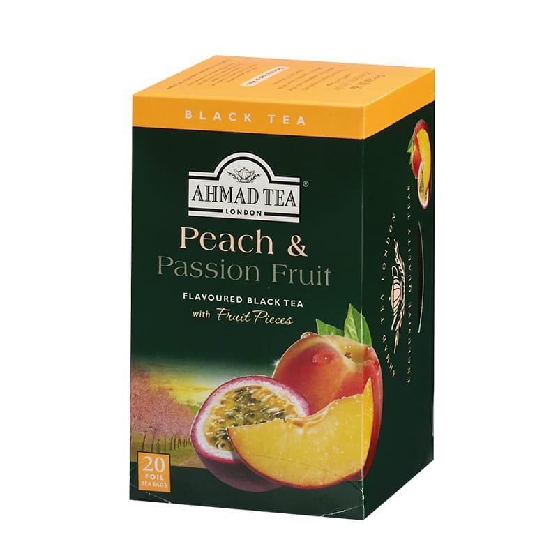 Herbata czarna smakowa – brzoskwinia i marakuja