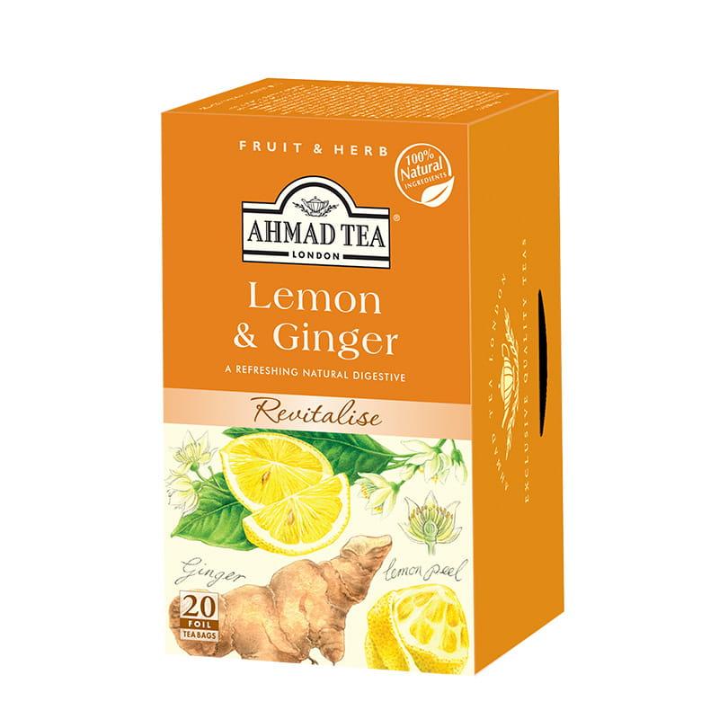 Napar z cytryny i imbiru – Lemon & Ginger