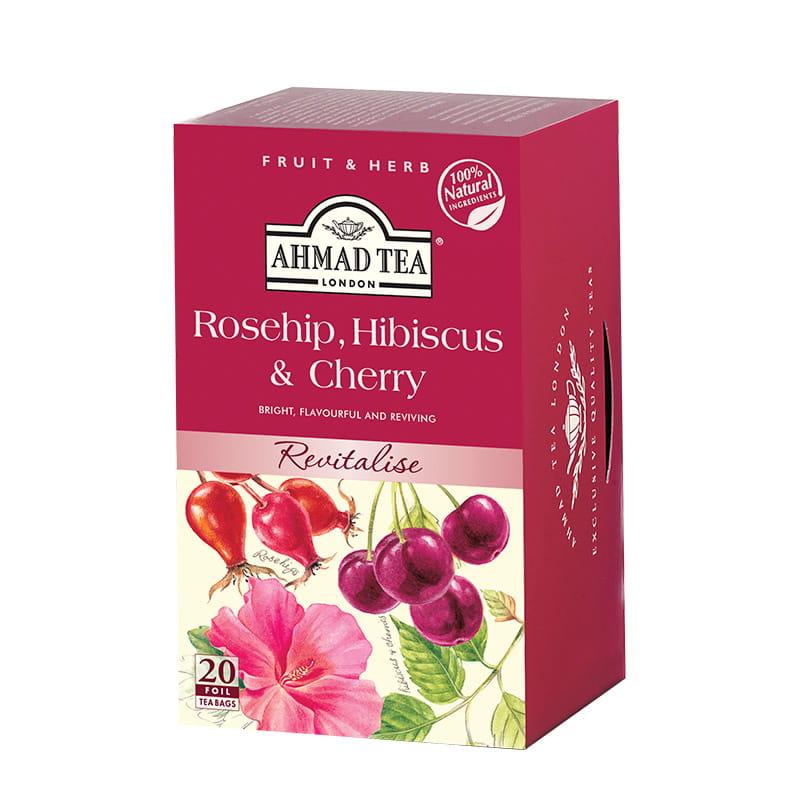 Napar z dzikiej róży i wiśni – Rosehip & Cherry