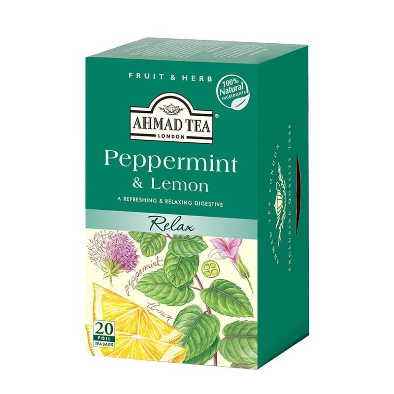 Napar z mięty pieprzowej i cytryny – Peppermint & Lemon