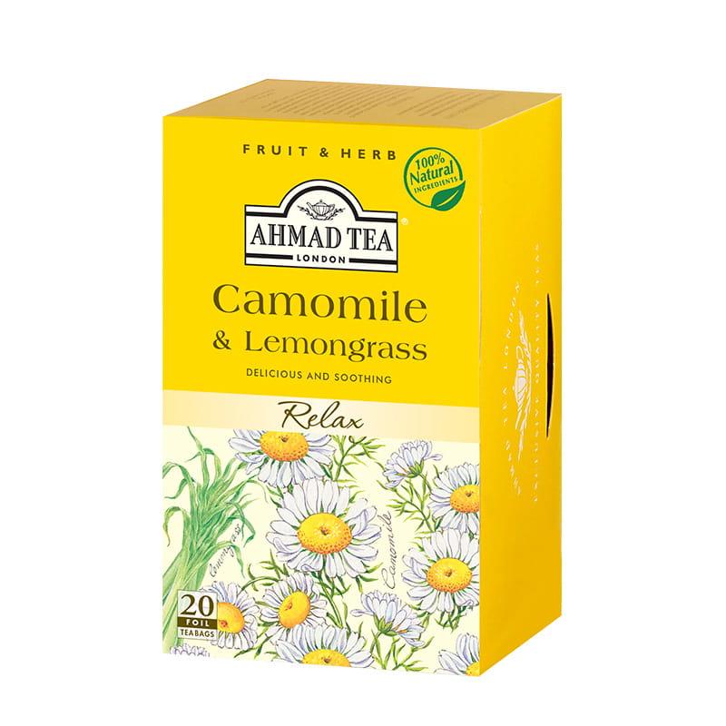 Napar z rumianku i trawy cytrynowej – Camomile & Lemongrass